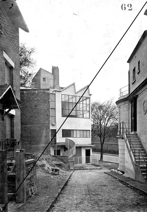 Paris - 14ème - Maison-atelier du peintre Amédée Ozenfant Architecte: Le…