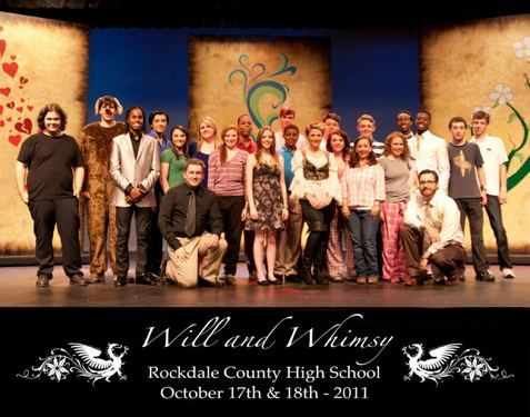 Will and Whimsy: Sixteen Dramatically Illustrated Sonnets from the Rockdale County High School in Conyers, GA.  Directed by Dave DiPietro #theatre