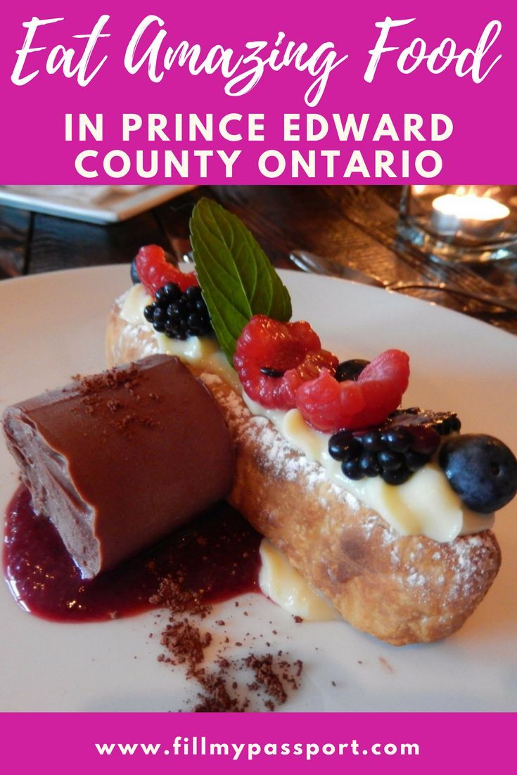 This Is The Best Guide To Prince Edward County Wineries And Eats Canada Food Prince Edward County Eat