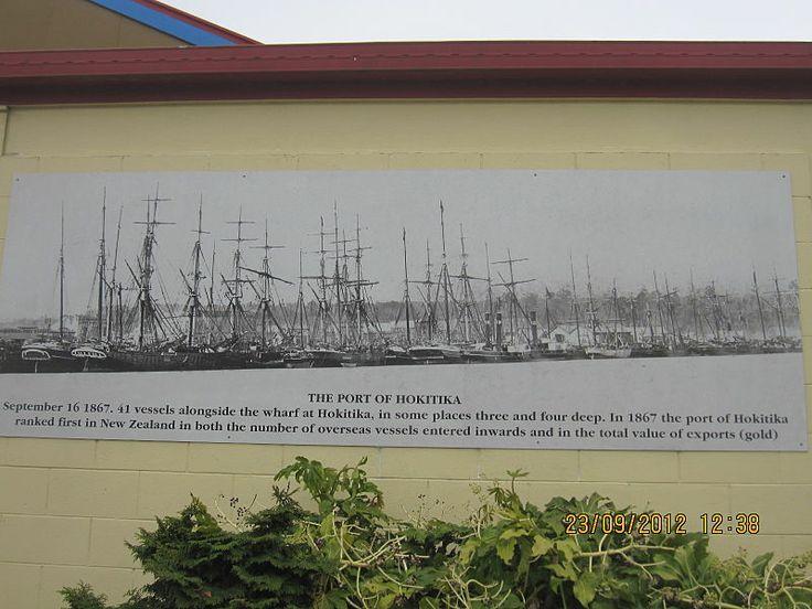 The Luminaries -Port of Hokitika 1867