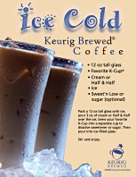 K-cup recipes for your Keurig brewer: Keurig Brewers, Summer Drinks, Drinks Recipes, Cold Brewing Coffee, Coffee Recipes, Cold Coffee, K Cups Recipes, Ice Cold, Kcup Recipes