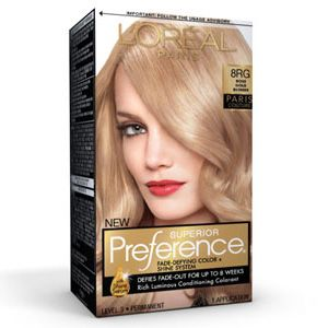 Superior Preference® Paris Couture™ Rose Gold Blonde 8RG - Hair Color - L'Oreal Paris