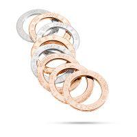 #Pianegonda Joy. ANELLO JOYFUL in ARGENTO 925/00 RODIATO, ARGENTO ROSÈ. Uno dei marchi Pisani Gioielleria Galleria La Maschera Scandicci http://www.pisanigioielleria.com/ --- http://www.pianegonda.com/ps_it/anelli.html