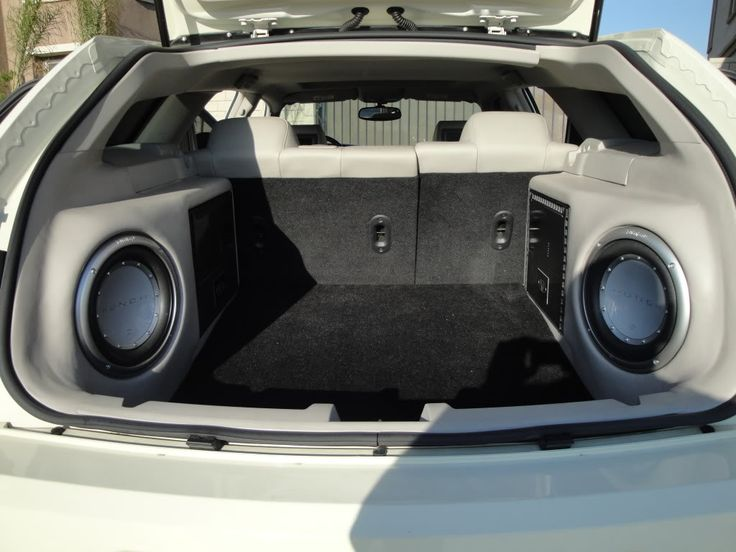 Dodge Magnum Custom Subwoofer Box - image #128