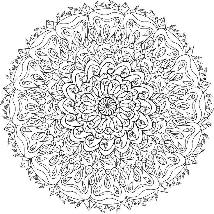 Krita Mandala 7 por WelshPixie