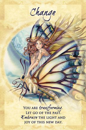 Crap, Change + Truth using Jody Bergsma's Magical Times Empowerment cards from U.S. Games Systems.