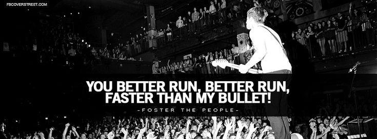 pumped up kicks lyrics   Foster The People Pumped Up Kicks Lyrics Facebook Cover