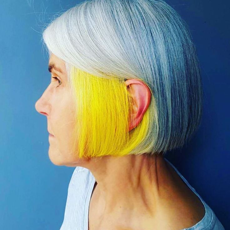 25 Attention-Grabbing Yellow Hair Color Ideas — Bright as the Sun Check more at http://hairstylezz.com/best-yellow-hair-color-ideas/