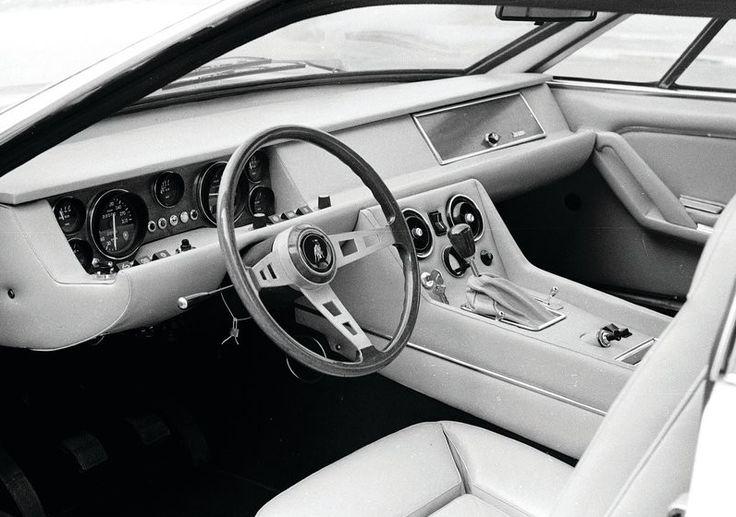 Lamborghini Classic Car Vintage Interior Fancy Classy Oldschool