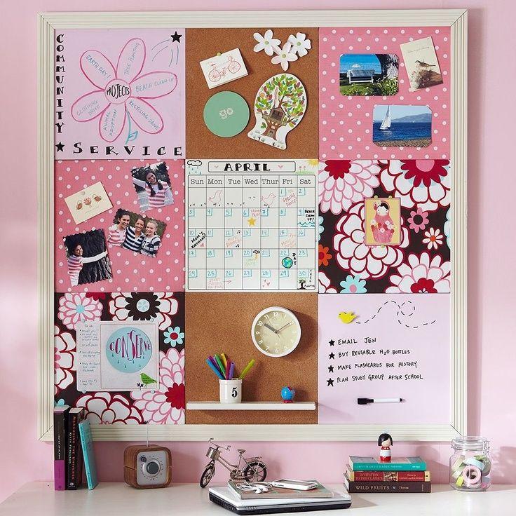 Diy Cool Cork Board Ideas Instalation Photos Bulletin Board