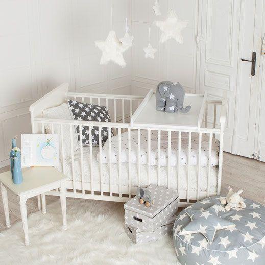 Unter Sternenhimmel schläft es sich doch am Besten. Im neuen Puckdaddy Babybett sowieso:-)