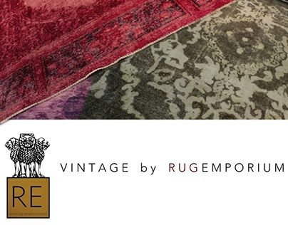 "Check out new work on my @Behance portfolio: ""VINTAGE RUGS by RUG-EMPORIUM"" http://on.be.net/1L3vXRz"