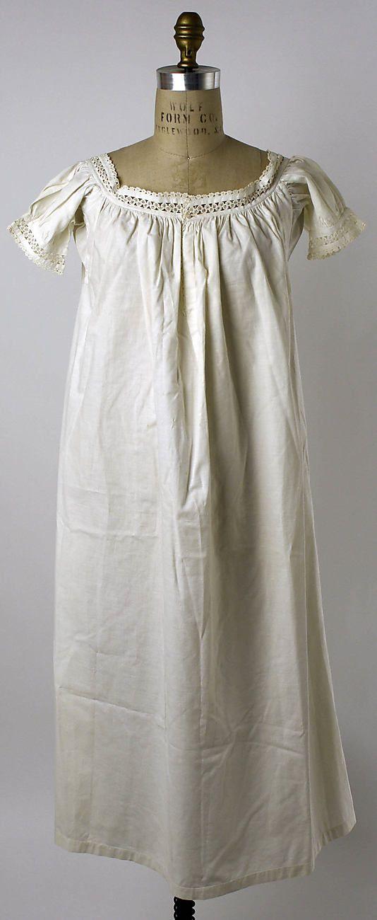 Underwear  Date: 1860–65 Culture: American or European