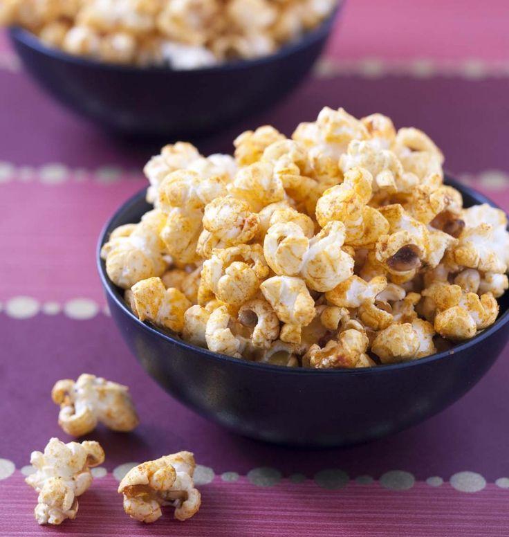 Pop corn salés aux épices - les meilleures recettes de cuisine d'Ôdélices