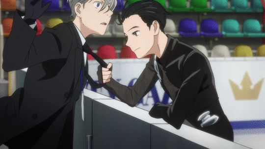 My favorite part in the episode.....Yuri showing his Eros