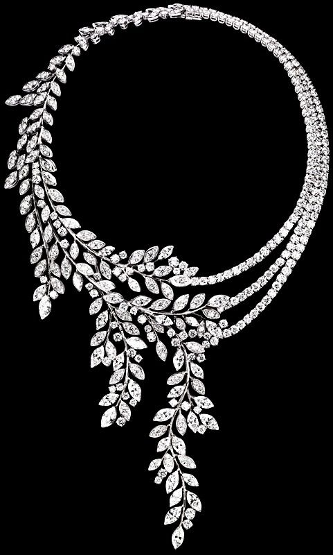 Piaget Limelight Garden Diamond Garland Necklace For Ladies