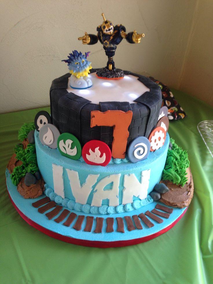Pin Skylanders Birthday Cake Ideas And Designs