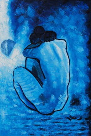 picasso s blue nude