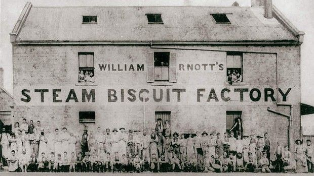 The original Arnott's factory - read all about our favourite bikkies.