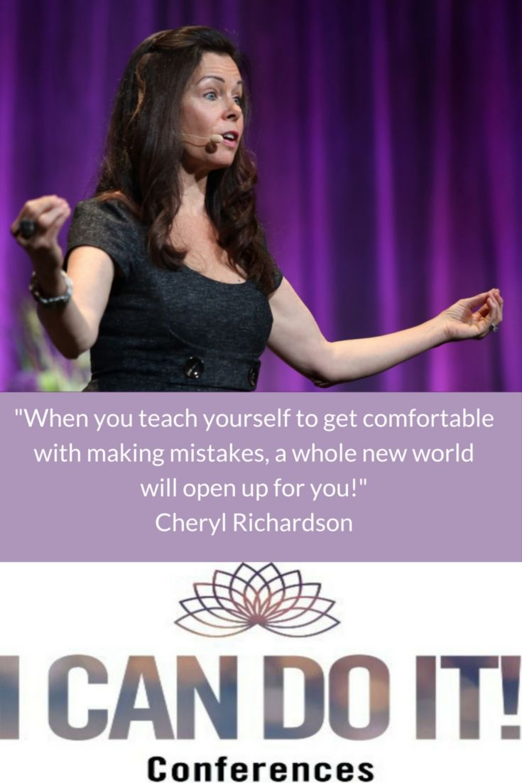 Join Cheryl Richardson and your favorite Hay House authors in 2016 for our I Can Do It! Conferences. Be prepared for a radical change!