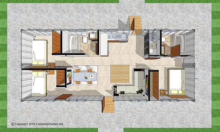 storage container homes floor plans Google Search Future House