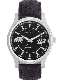 Trident Krakow Watch - one of our new pieces, this has proven to be a very popular design. Have a closer look at http://mytrident.co.za/products/krakow-mens and purchase it at http://www.zando.co.za/Trident-Krakow-Watch-Black-123641.html