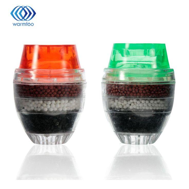 Air filter karbon pembersih rumah dapur rumah tangga mini faucet tekan air bersih filter filtrasi cartridge 16-19mm/21-23mm