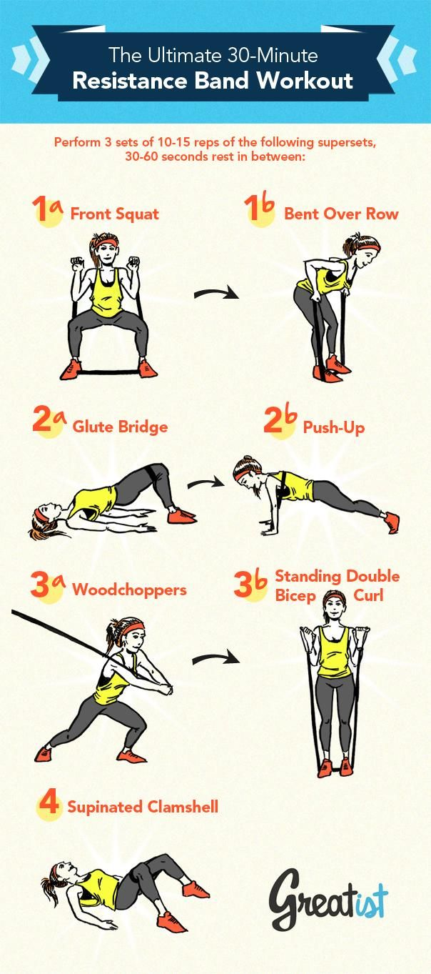 Best 20+ Stretch Band Exercises ideas on Pinterest ...