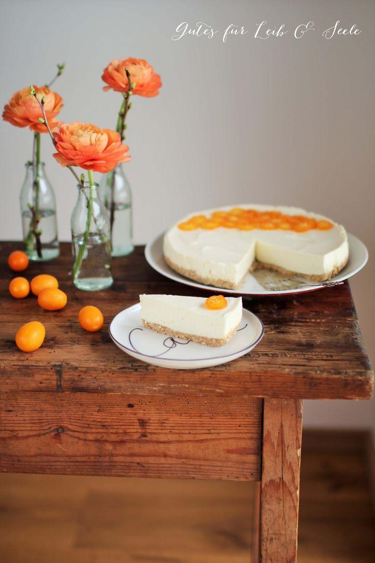 Orangen-Cheesecake (Kühlschranktorte)