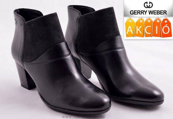 Gerry Weber női bokacipő ajánlatunk! Gerry Weber lábbelik kedvezményes áron vásárolhatók, a Josef Seibel Referencia Szaküzletünkben és webáruházunkban!  http://valentinacipo.hu/gerry-weber/noi/fekete/bokacipo/138201139  #gerry_weber #gerry_weber_cipő #gerry_weber_webshop