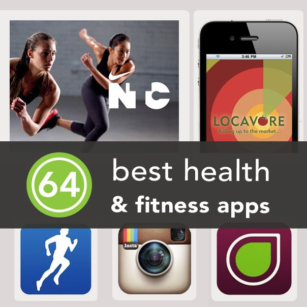 The 64 best health and fitness apps.