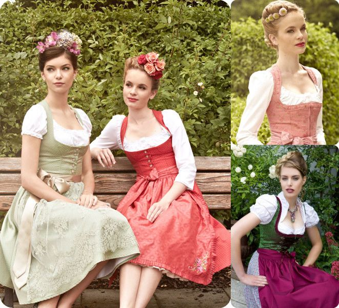 dirndl frisuren mit blumen oktoberfest frisuren ich habe eine dirndl pinterest. Black Bedroom Furniture Sets. Home Design Ideas