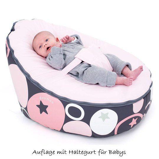 Bequemer und leichter Sitzsack für Säuglinge und Kleinkinder.