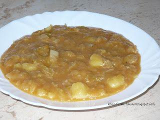 lábas, fazék, fakanál: Kelkáposzta főzelék