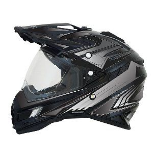 AFX should have called this helmet the FX-41 DEAL-Sport Helmet. Absolutely packed to the gills with features, the AFX FX-41 helmet incorporates creature comf...