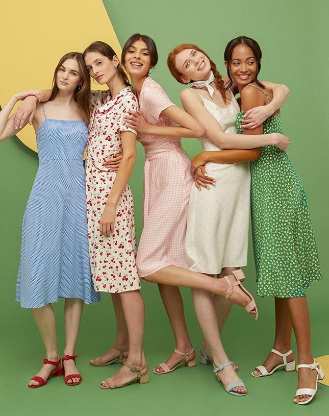 Идеальные летние платья — с любовью из Нью-Йорка   Мода   Выбор VOGUE   VOGUE