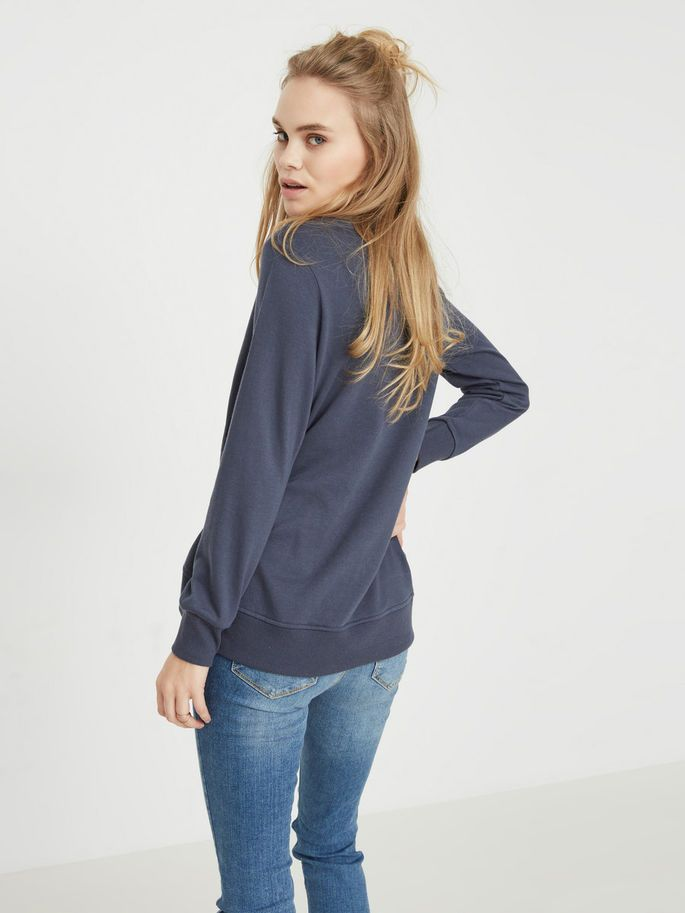 Ombre blue sweatshirt
