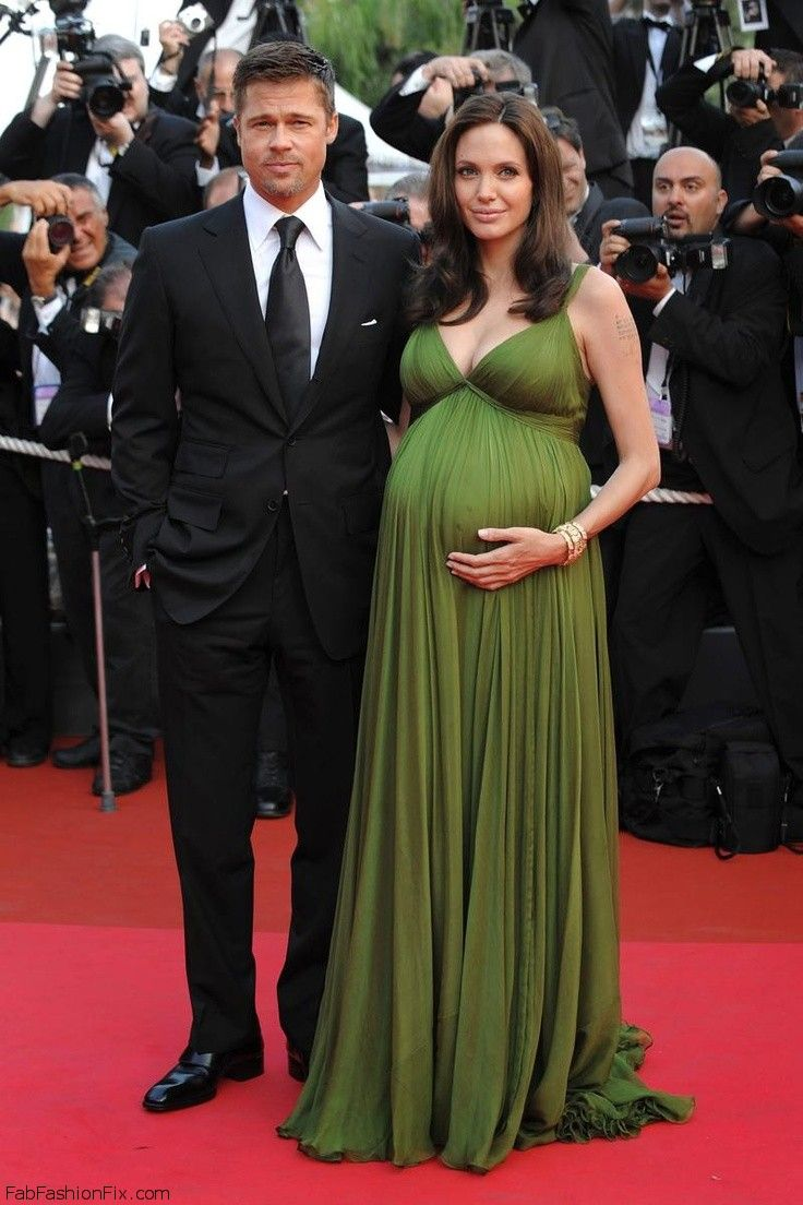 Pregnant Angelina Jolie at 2011 Cannes Film Festival.