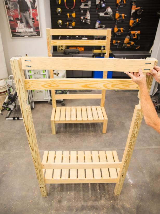 How To Build A Loft Bed With A Built In Table And Benches