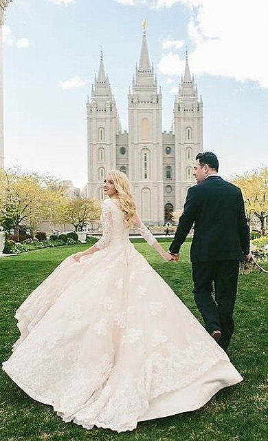 "Does this wedding dress not scream ""princess"" to you?!"