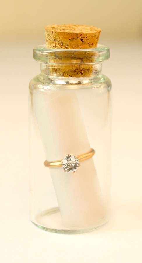 Message in a bottle - please ooh please propose to me like this!!