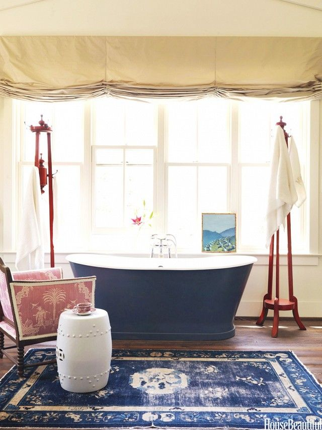 Best BATHROOM Designs Images On Pinterest Architecture - Navy bath rug for bathroom decorating ideas