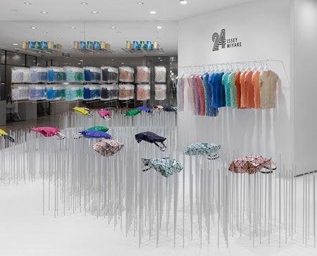: Miyake Shops, 24 Issey, Retail Interiors, Shibuya Parco, Issey Miyake, Retail Design, Concept Stores, Stores Interiors, Design Blog