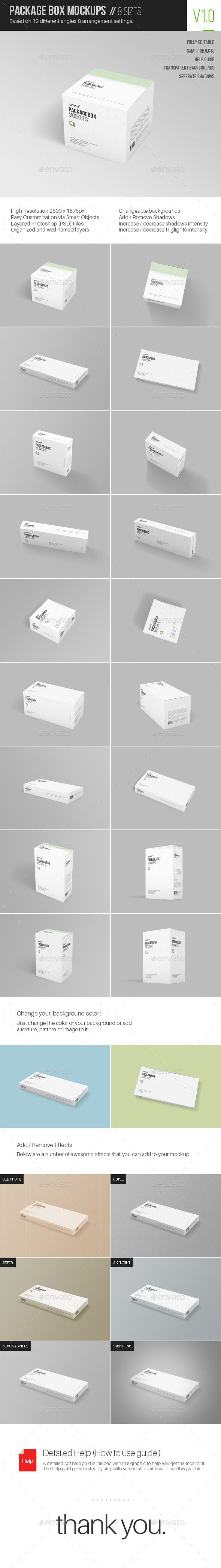 Package Box Mockups #package #mockup #design Download: http://graphicriver.net/item/package-box-mockups/10677855?ref=ksioks