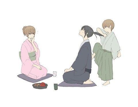 Mitsuba / Hijikata / Okita