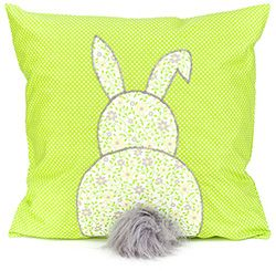 Idée créative - Coussin avec lapin - Boutique en ligne buttinette - buttinette - loisirs créatifs