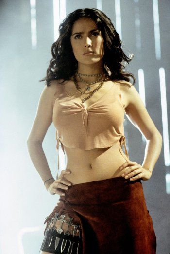 Salma Hayek in Once upon a time in Mexico directed by Robert Rodrigues, 2003