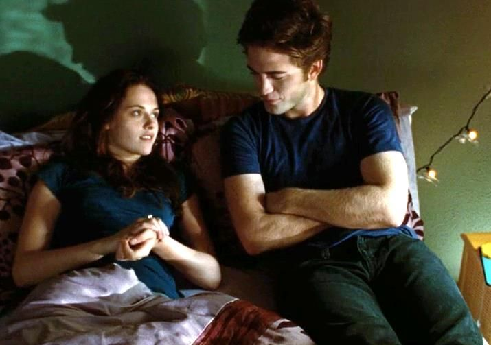 """""""Hey... don't go."""" - Bella Swan to Edward Cullen, Twilight"""