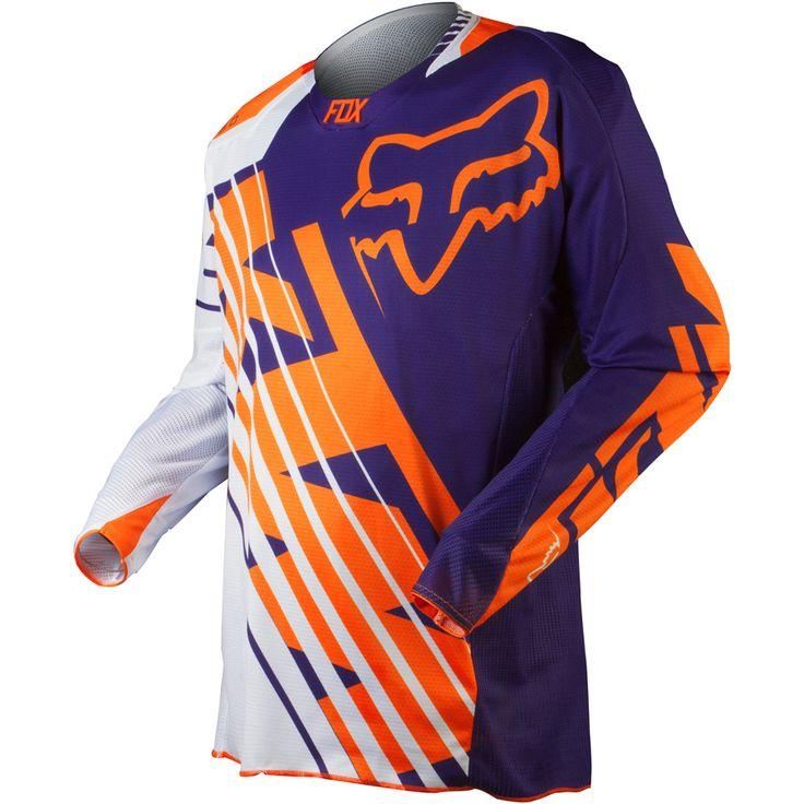 2015 Fox 360 Ktm Mx Motocross Jersey - Purple - 2015 Fox Motocross Jerseys - 2015 Fox Motocross Gear - 2015 Motocross Gear