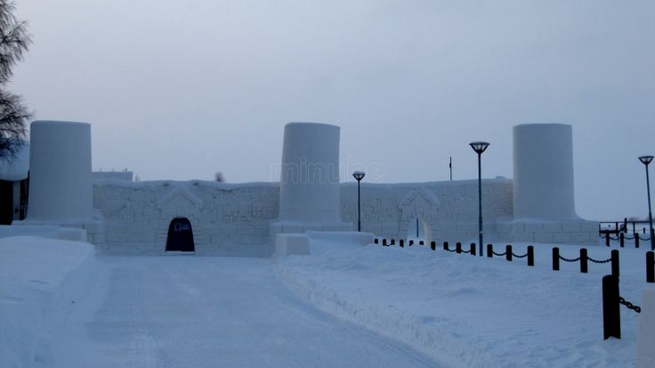 Lumilinna (Castillo de Hielo) Kemi, Finlandia